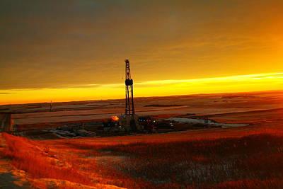Nomac Drilling Keene North Dakota Poster