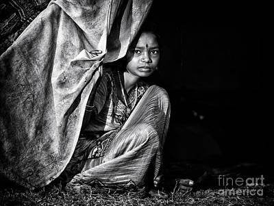 Nomadic South Indian Girl  Poster