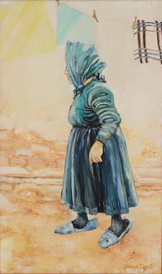 Forenza Vita Nonna Filomena Poster by Giovanni Caputo
