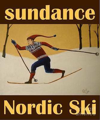 Nord Ski Poster Poster