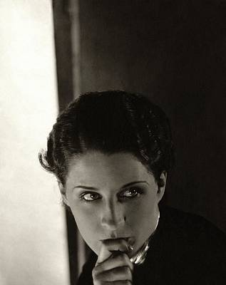 Norma Shearer As Kothe Of Old Heidelberg Poster by Edward Steichen