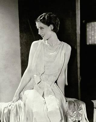 Norma Shearer Smiling Poster