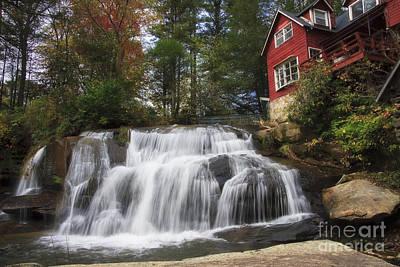 North Carolina Waterfall Poster