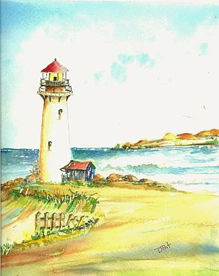 North Coast Light House Poster by David Patrick