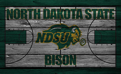 North Dakota State Bison Poster