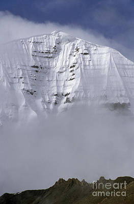 North Face Of Mount Kailash - Tibet Poster by Craig Lovell