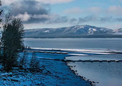 North Shore Winter Blues Poster