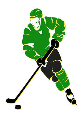 North Stars Shadow Player Poster by Joe Hamilton