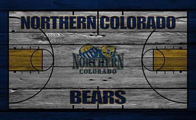 Northern Colorado Bears Poster by Joe Hamilton