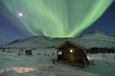 Northern Lights Shimmer Poster