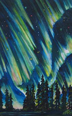 Northern Lights V Poster