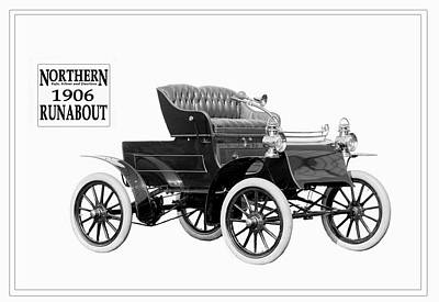 Northern Runabout 1906. Poster by Unknown Photographer