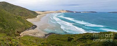 Northland Sand Beach Near Cape Reinga New Zealand Poster