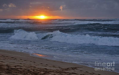 Poster featuring the photograph Northshore Nightfall by Gina Savage