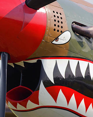 Nose Art I Poster by Timothy McIntyre