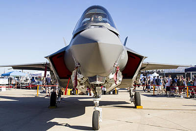 Nose To Nose With An F-35 Poster