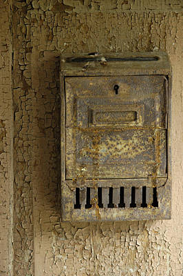 Nostalgia - Old And Rusty Mailbox Poster by Matthias Hauser
