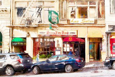 Nostalgic Sears Fine Food Restaurant San Francisco Dsc885wcstyle Poster
