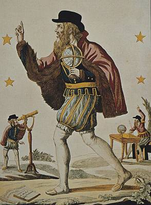 Nostradamus, Michel De Notre Dame Poster by Everett