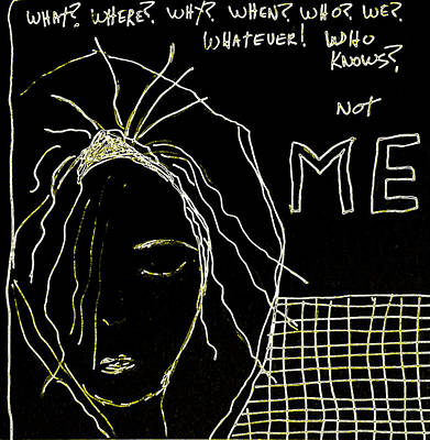 Not Me Poster