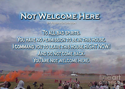 Not Welcome Here Poster