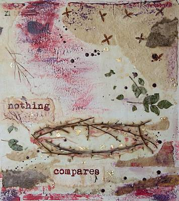 Poster featuring the painting Nothing Compares by Jocelyn Friis