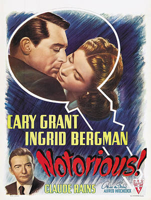 Notorious - 1946 Poster
