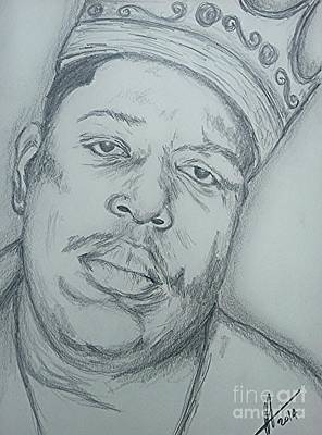 Notorious Big Art Poster by Collin A Clarke