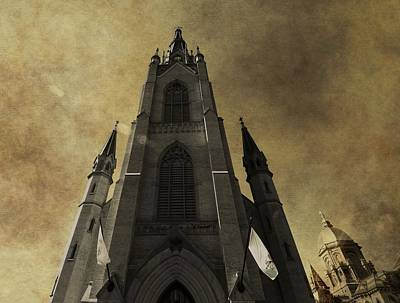 Notre Dame Basilica Poster by Dan Sproul