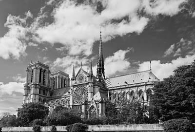Notre Dame De Paris Poster by Maj Seda