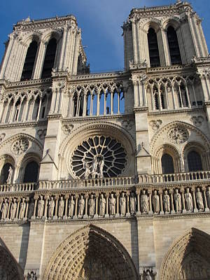 Poster featuring the photograph Notre Dame by Tiffany Erdman