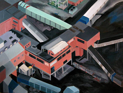 Nottinghamshire Coal Mine Poster