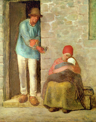Nourishment, 1858 Poster