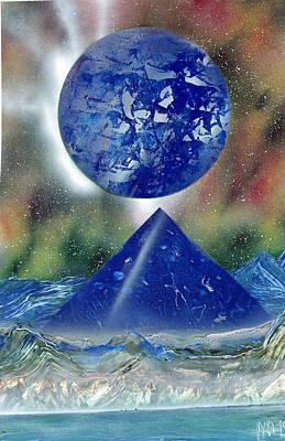 Nova Blue  Poster by Marc Chambers