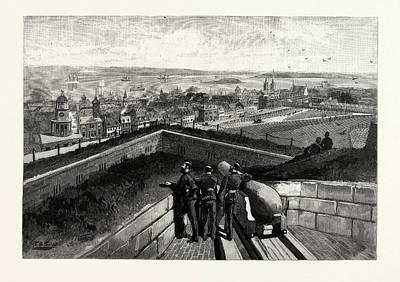 Nova Scotia, Halifax, From Citadel, Canada Poster