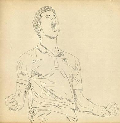 Novak Poster by Scott  Colson