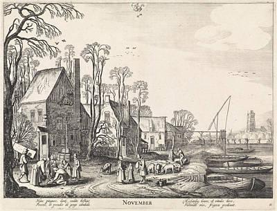 November, Jan Van De Velde II Poster