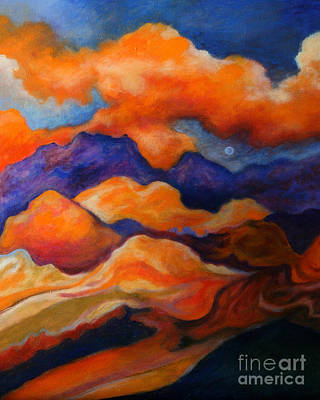 November Landscape Poster by Alison Caltrider