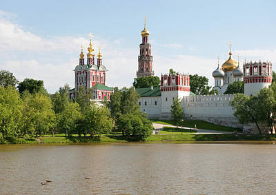 Novodevichy Monastery Poster by Gouzel -