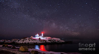 Nubble And The Milkyway Poster by Scott Thorp