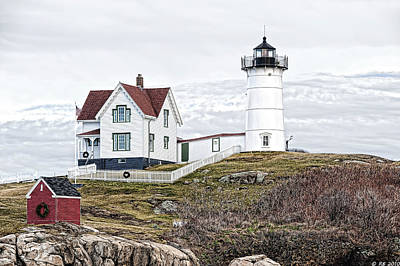 Poster featuring the photograph Nubble Light by Richard Bean