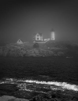 Nubble Lighthouse Poster by Joseph Smith