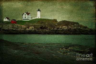 Nubble Lighthouse Maine Usa Poster