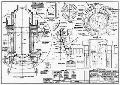 Nuclear Power Plant Components, Diagram Poster by Library Of Congress