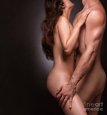 Nude Couple Naked Bodies Poster
