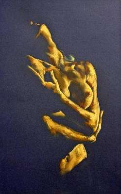 Nude - Ecstasy Poster