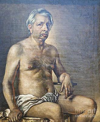 Nude Self Portrait By Giorgio De Chirico Poster by Roberto Morgenthaler