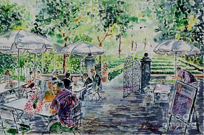 Nuernberg Gardens Of Hesperides Poster by Alfred Motzer