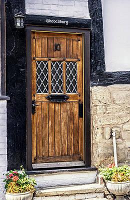 Number 10 Wooden Door Poster by Georgia Fowler