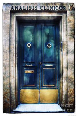 Number 12 - The Blue Door Poster